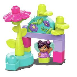 Mega Bloks Flower Fairies Flying School Playset
