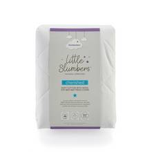 Slumberdown Cherished Cotton & Wool Cot Bed Mattress Cover