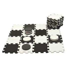 Traditional Garden Games Draughts.