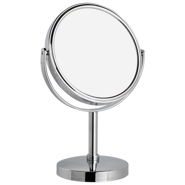 Buy danielle creations chrome beauty mirror at for Beauty mirror