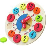 more details on Chad Valley PlaySmart Wooden Clock.
