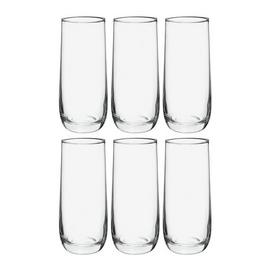 Habitat Joy Glassware Set of 6 Hi Ball Glasses