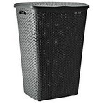more details on Curver 55 Litre Laundry Hamper - Jet Black.