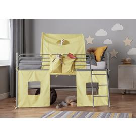 Argos Home Yellow Mid Tunnel & Tent for Kids Mid Sleeper