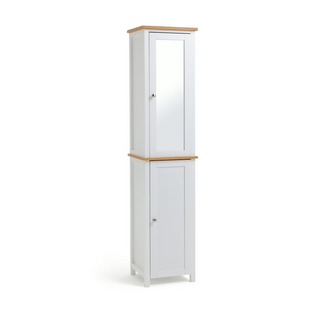 Buy Argos Home Livingston Tallboy White Freestanding Bathroom Cabinets Argos