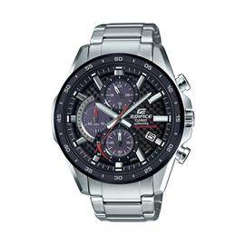 Edifice Mens Solar Powered Chronograph Stainless Steel Watch