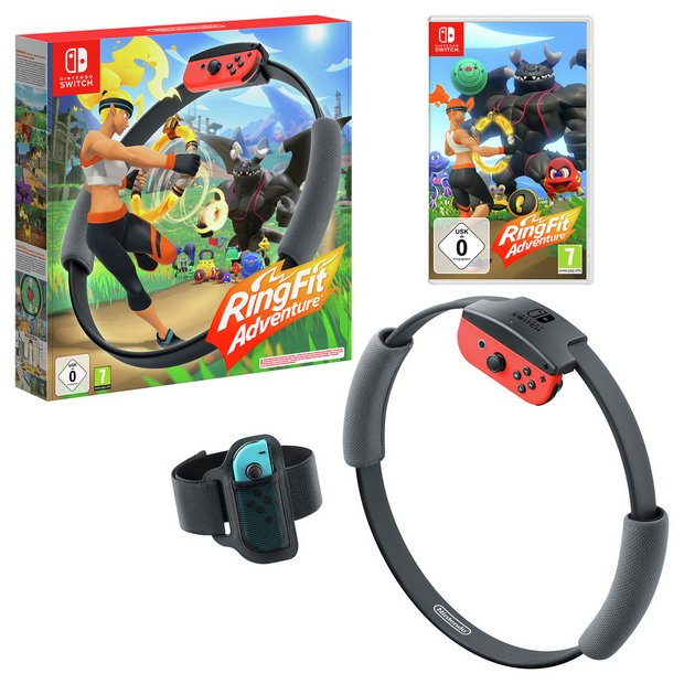 Buy Ring Fit Adventure Nintendo Switch Game | Nintendo Switch games | Argos