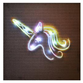 Innova Home LED Neon Unicorn Canvas