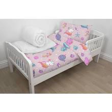 Peppa Pig Bed in a Bag Set - Toddler