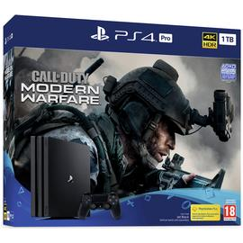 Sony PS4 Pro 1TB & Call of Duty: Modern Warfare Bundle