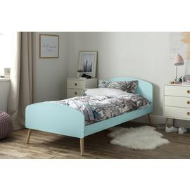 Argos Home Bodie Blue Single Bed Frame