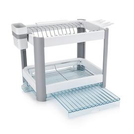 Minky Twin Tier Extendng Dish Rack