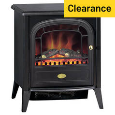 Dimplex Club 2kW Electric Freestanding Stove - Black