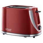 more details on Russell Hobbs 21411 Mode 2 Slice Toaster – Red.