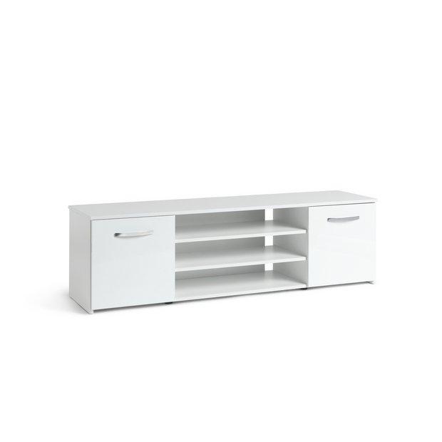 los angeles 72f22 71537 Buy Argos Home Hayward 2 Door Wide TV Unit - White | TV stands | Argos