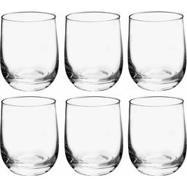 Habitat Joy Glassware Set of 6 Tumbler Glasses - Clear