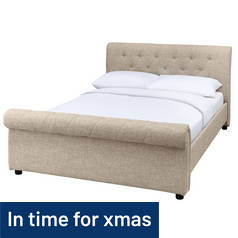 Argos Home Newbury Superking Bed Frame - Natural