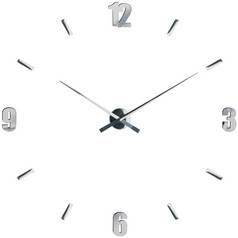 Premier Housewares Mirrored Customisable Wall Clock