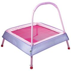 Chad Valley Kid's Junior Indoor Trampoline - Pink