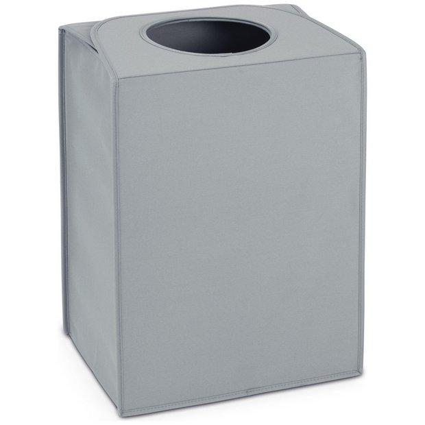 Buy Brabantia 55L Rectangular Laundry Bag - Grey at Argos ...