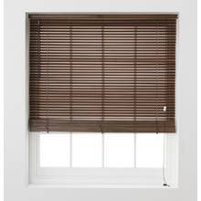 Argos Home Wooden Venetian Blind - 4ft - Walnut