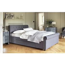 Argos Home Newbury Double 2 Drawer Bed Frame - Grey
