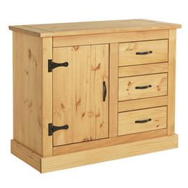 Argos Home San Diego 1 Door 3 Drawer Solid Pine Sideboard