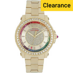 Juicy Couture Ladies' Pedigree Multi Stone Bracelet Watch