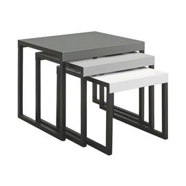 Habitat Kilo Metal Nest of Tables