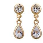 more details on 9ct Gold Cubic Zirconia Teardrop Earrings.