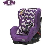 more details on Obaby Group 0-1 Combination Car Seat - ZigZag Purple.