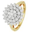 more details on 9ct Gold 1.00ct tw Diamond Cluster Ring.