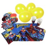 more details on Superman Party Pack for 16 Guests.