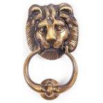 more details on Antique Brass Lion Door Knocker.