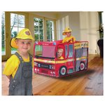 more details on Chad Valley Pop Up Fire Engine Play Tent With Hat.