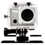 more details on Vivitar 4K Action Camera with LCD Screen & Wifi - Silver.