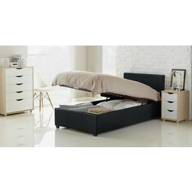 Habitat Lavendon Single Ottoman Bed Frame - Black