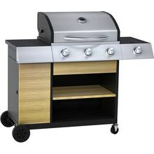 Argos Home Deluxe 3 Burner Outdoor Kitchen Gas BBQ