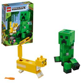 LEGO Minecraft BigFig Creeper and Ocelot Building Set 21156