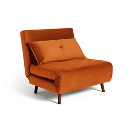 Argos Home Roma Fabric Chairbed - Orange