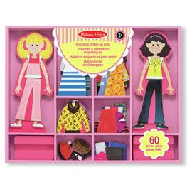 Melissa & Doug Abby & Emma Magnetic Wooden Dress Up