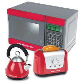 Casdon Morphy Richards Toy Microwave/Kettle and Toaster.