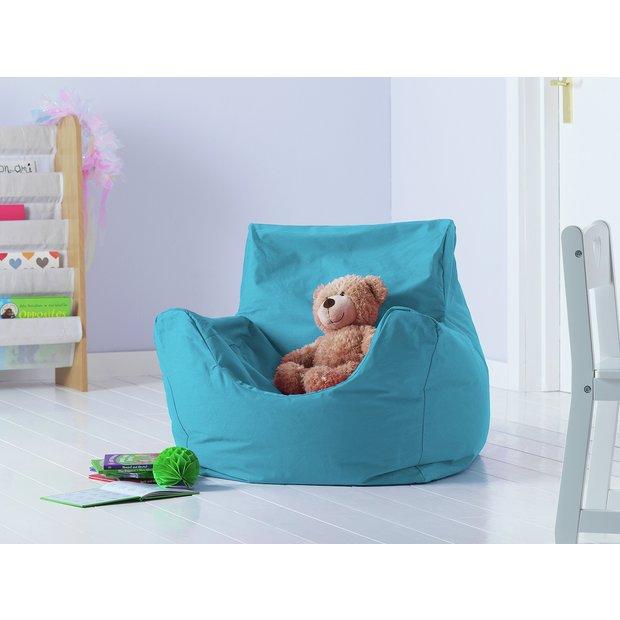 Sensational Buy Argos Home Kids Funzee Blue Bean Bag Chair Bean Bags Argos Inzonedesignstudio Interior Chair Design Inzonedesignstudiocom