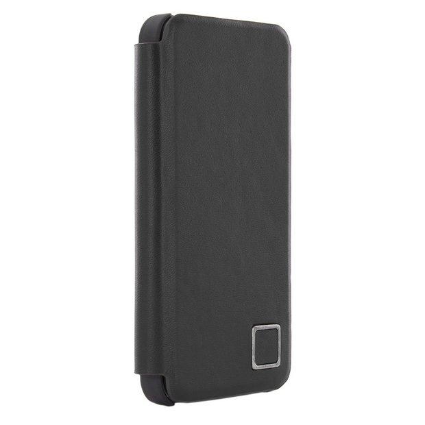 newest 2c794 ab25a Buy Leather iPhone 5/5s/SE Folio Case - Black   Mobile phone cases   Argos