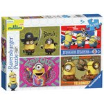 more details on Minions New Design 4 x 100 Piece Bumper Puzzles Pack.