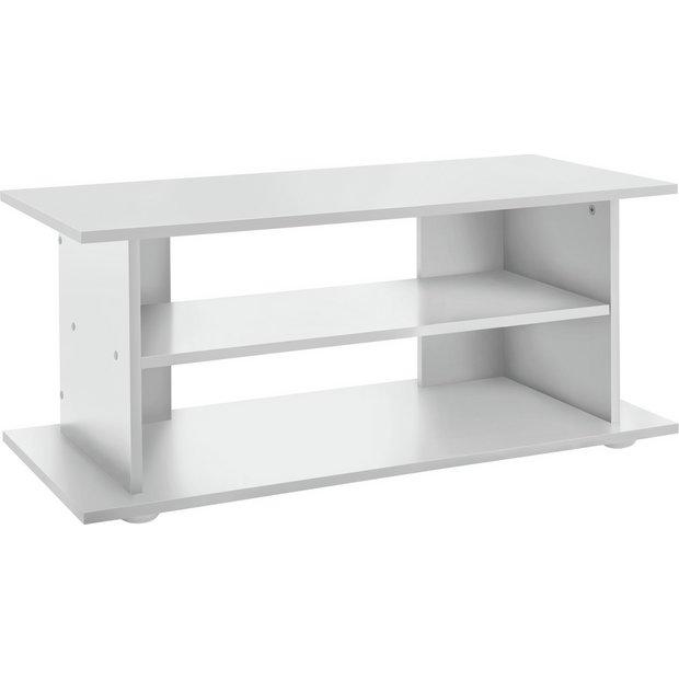 buy corona solid pine 2 shelf hifi entertainment unit tv. Black Bedroom Furniture Sets. Home Design Ideas