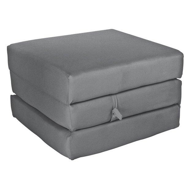 buy colourmatch single mattress cube flint grey sofa. Black Bedroom Furniture Sets. Home Design Ideas