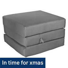ColourMatch Single Mattress Cube - Flint Grey