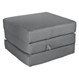 Argos Home Single Mattress Cube - Flint Grey
