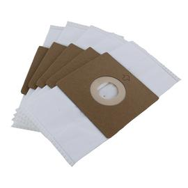 Compact Bagged Cylinder Vacuum Cleaner Dust Bags - 5 Pack